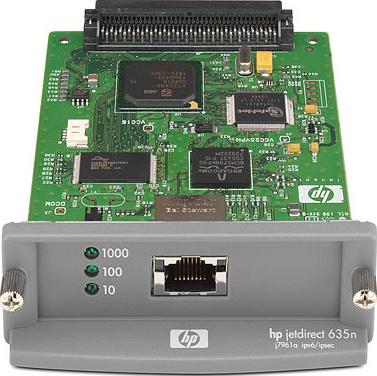 Принт-сервер HP Jetdirect 635n IPv6/IPsec (J7961G) - общий вид