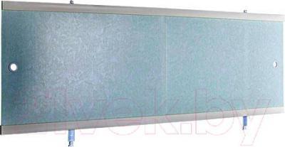 Экран для ванны Вир Пласт ЭС 170-50-УГ (светло-голубой мрамор)