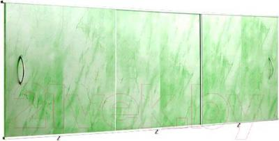 Экран для ванны Вир Пласт ЭС 150-50-УЗ (светло-зеленый мрамор)