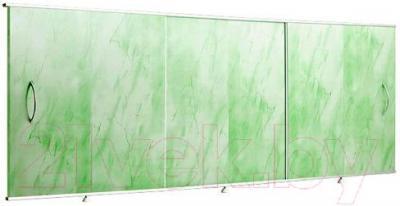 Экран для ванны Вир Пласт ЭС 170-50-УЗ (светло-зеленый мрамор)