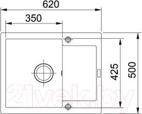 Мойка кухонная Franke MRG 611C (114.0198.369)