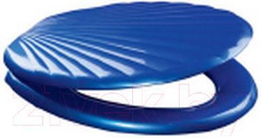 Сиденье для унитаза ОРИО КР3-5 (темно-синий)