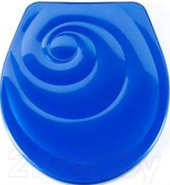 Сиденье для унитаза ОРИО КУ2-5 (темно-синий)