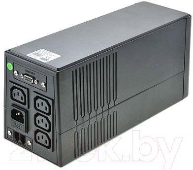 ИБП FSP EP 650 - вид сзади