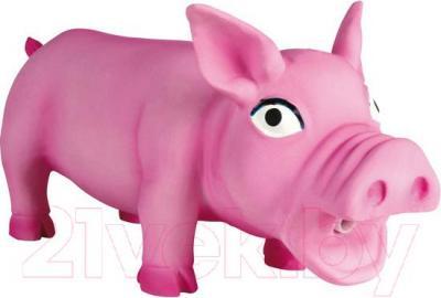 Игрушка для животных Trixie Свинка 35490 (со звуком) - общий вид