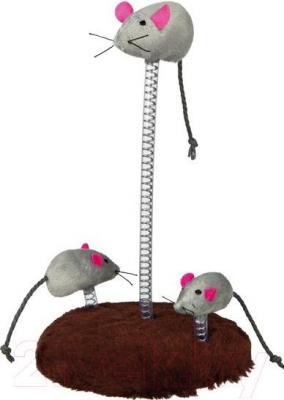 Игра для животных Trixie Семья мышей на пружине 4070 - общий вид
