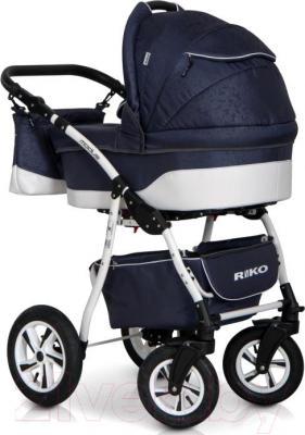 Детская универсальная коляска Riko Modus 2 в 1 (10) - вид сзади