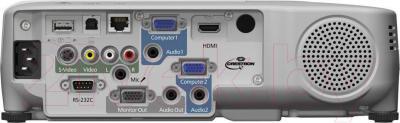Проектор Epson EB-955WH - вид сзади