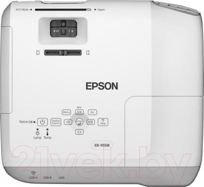 Проектор Epson EB-955WH - вид сверху
