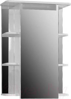 Шкаф с зеркалом для ванной Belux Сонет-Сити ВШ62
