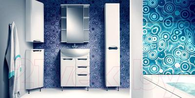Шкаф-пенал для ванной Belux Сонет-Сити П30К  (правый)