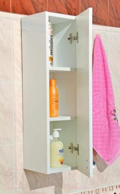 Шкаф-полупенал для ванной Belux Сонет-Сити Ш20 (правый)