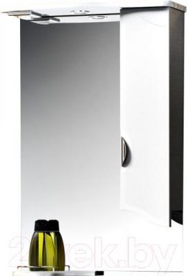 Шкаф с зеркалом для ванной Belux Октава В60Ш (правый)