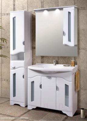 Шкаф-пенал для ванной Belux Октава П30-01 (правый)
