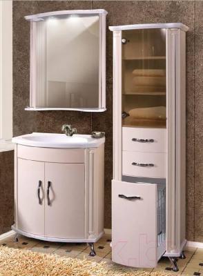 Шкаф-пенал для ванной Belux Ария П50-02 К
