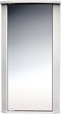 Шкаф с зеркалом для ванной Belux Микро ВУШ38 (правый)