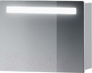 Шкаф с зеркалом для ванной Belux Марсель ВШ60