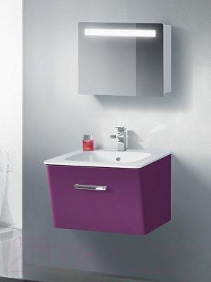 Шкаф с зеркалом для ванной Belux Марсель ВШ80