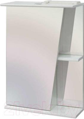 Шкаф с зеркалом для ванной Belux Эко-Астра ВШ55