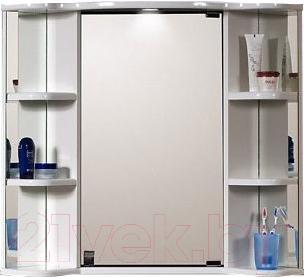 Шкаф с зеркалом для ванной Belux Классик ВУШ60