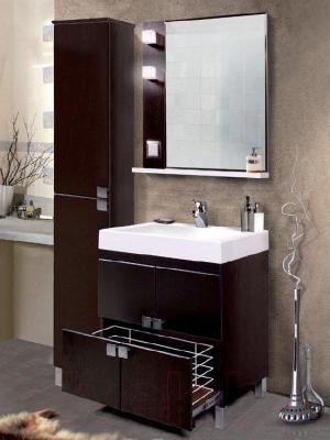 Шкаф-пенал для ванной Belux Импульс П30-01 (пленка 44, правый) - в интерьере