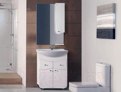 Шкаф с зеркалом для ванной Belux Модена В60Ш (правый)