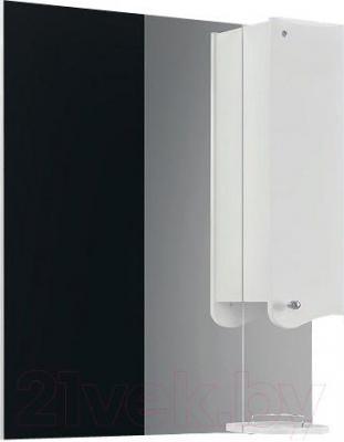 Шкаф с зеркалом для ванной Belux Модена В80Ш (правый)