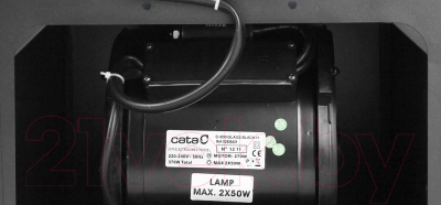 Вытяжка купольная Cata C-900 Glass H (черный)