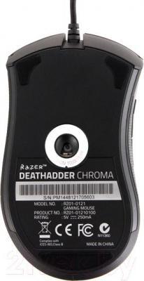 Мышь Razer DeathAdder Chroma - вид сзади