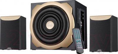 Мультимедиа акустика F&D A520U (черный) - общий вид