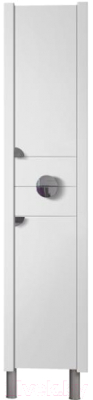Шкаф-пенал для ванной Belux Анталия П30-02К (белый, правый)