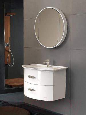 Шкаф с зеркалом для ванной Belux Версаль ВШ80