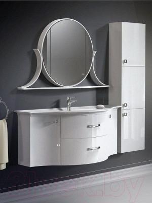 Шкаф с зеркалом для ванной Belux Версаль ВШ140 (правый)
