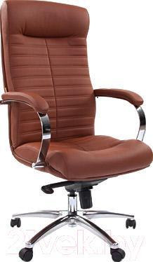 Кресло офисное Chairman 480 (коричневый)
