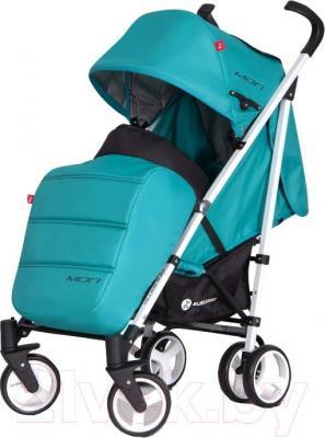 Детская прогулочная коляска Euro-Cart Mori (малахит) - общий вид