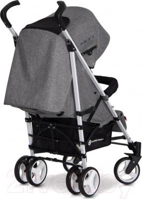 Детская прогулочная коляска Euro-Cart Mori (малахит) - вид сзади