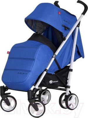 Детская прогулочная коляска Euro-Cart Mori (сапфир) - общий вид