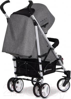 Детская прогулочная коляска Euro-Cart Mori (сапфир) - вид сзади