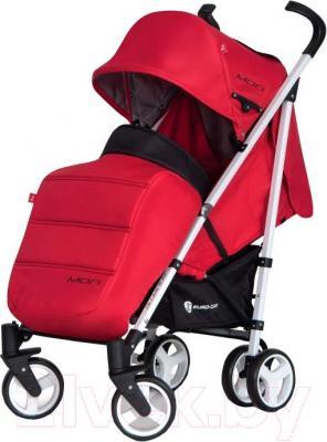 Детская прогулочная коляска Euro-Cart Mori (Scarlet) - общий вид