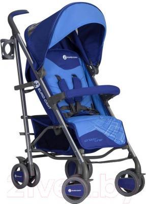 Детская прогулочная коляска Euro-Cart Crossline (сапфир) - общий вид