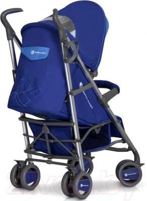 Детская прогулочная коляска Euro-Cart Crossline (сапфир) - вид сзади