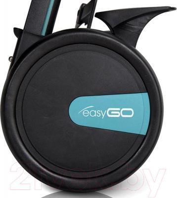 Детская прогулочная коляска EasyGo Nitro (карбон) - колесо