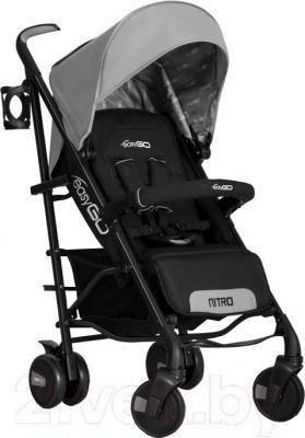 Детская прогулочная коляска EasyGo Nitro (карбон) - общий вид
