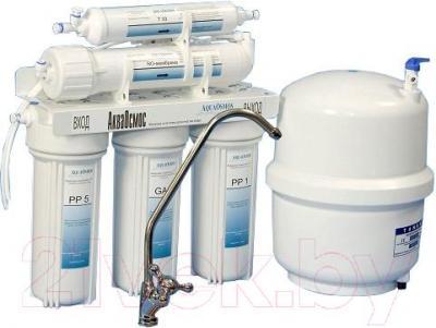Фильтр питьевой воды АкваОсмос АО RO 5 PP 5 + GAC + PP 1 + RO + T 33