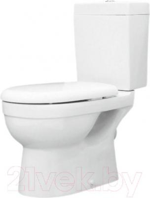 Унитаз напольный Керамин Бергамо (с жестким сиденьем и микролифтом)