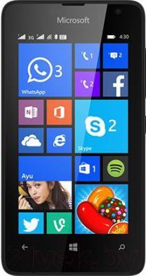 Смартфон Microsoft Lumia 430 Dual (черный)