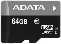Карта памяти A-data Premier microSDXC UHS-I U1 Class 10 64GB (AUSDX64GUICL10-R) -