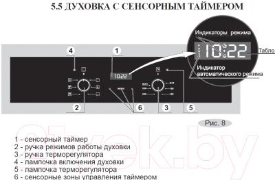 Электрический духовой шкаф Gefest 622-02 К18