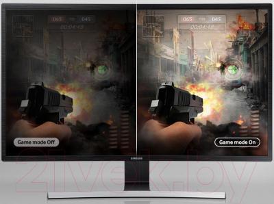 Монитор Samsung S32E590C (LS32E590CS/CI) - режим для игр