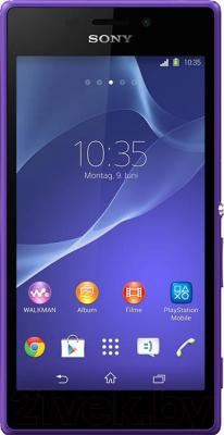 Смартфон Sony Xperia M2 / D2303 (пурпурный)